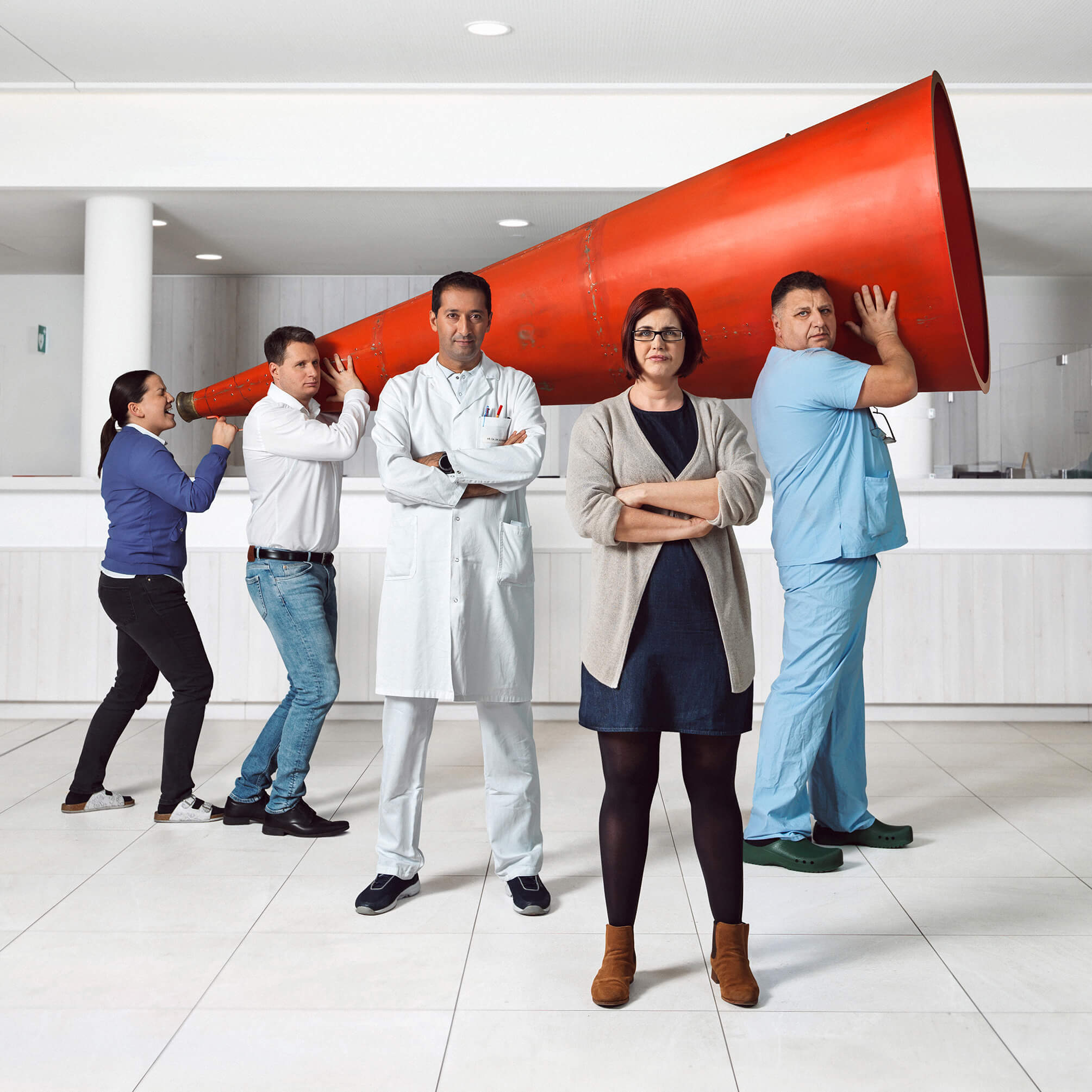 Göttlicher Heiland Spital BR-Team