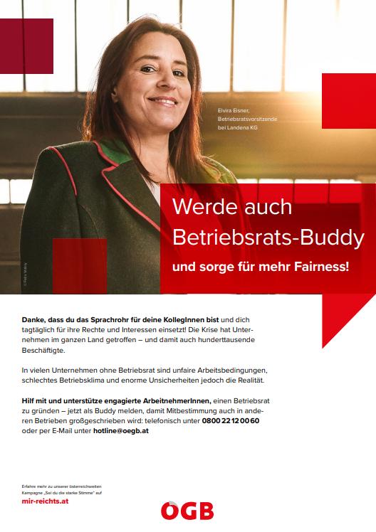 """Download: Plakate """"Jetzt Buddy werden"""" - Download auf Mir reicht's!"""